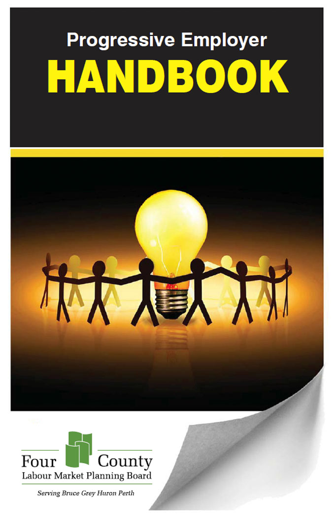 Progressive Employer Handbook Four County Labour Market Planning Board