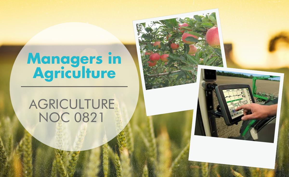 Managers in Agriculture