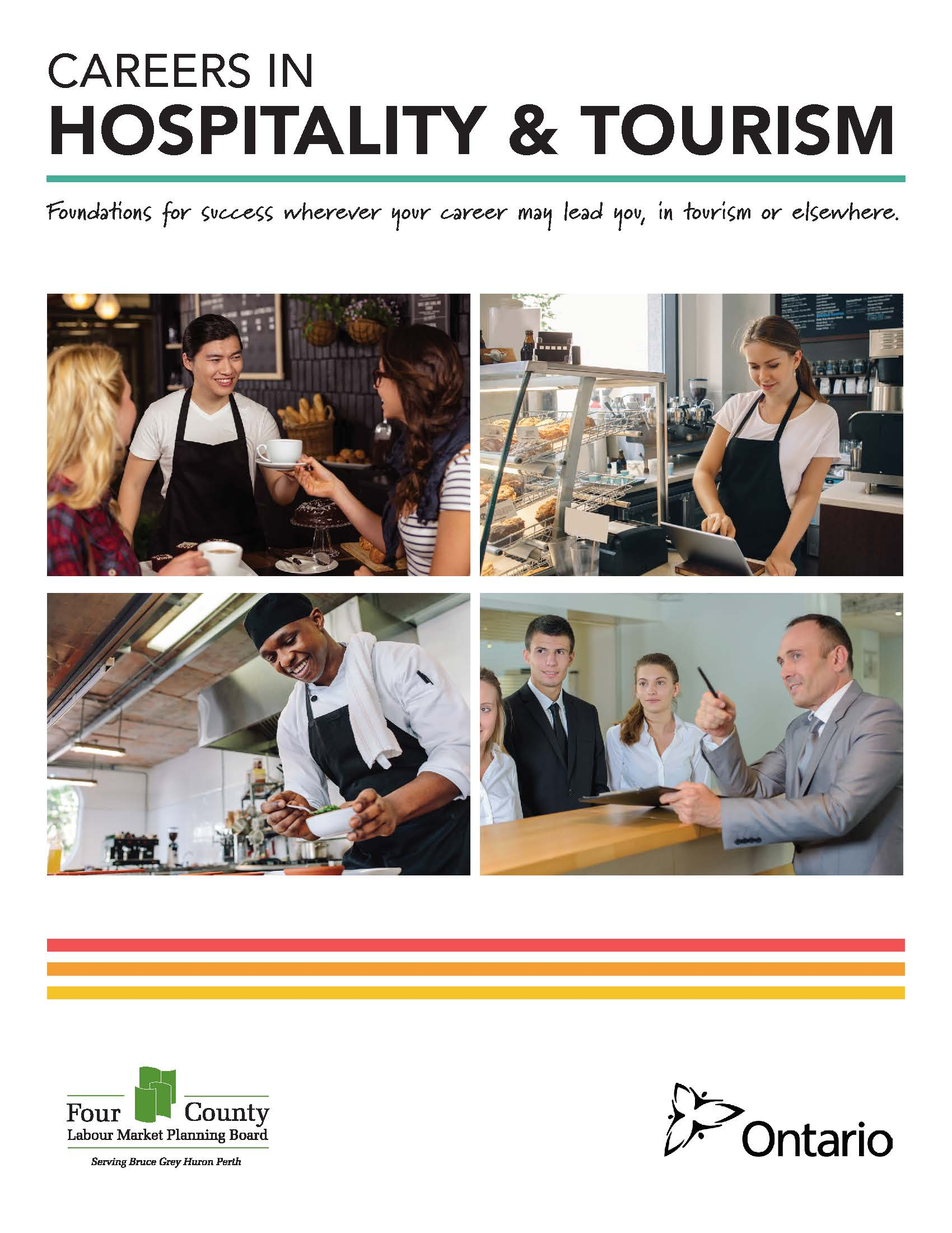 Career Map - Hospitality and Tourism - Four County Labour Market Planning Board