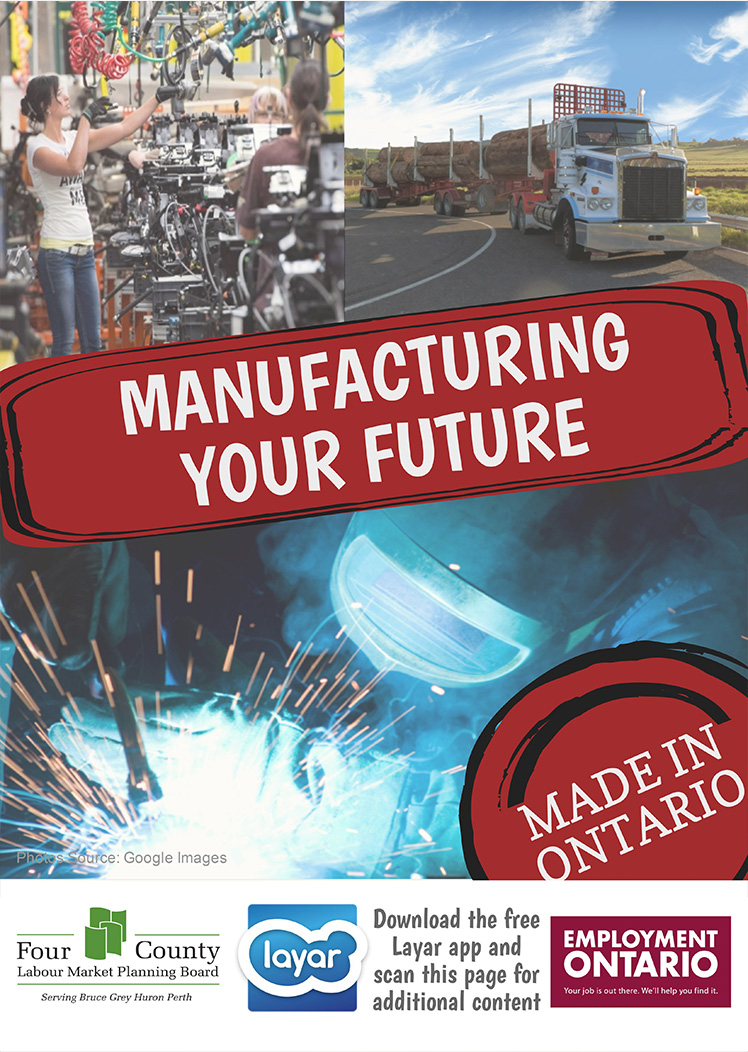 Manufacturing Your Future - Four County Labour Market Planning Board