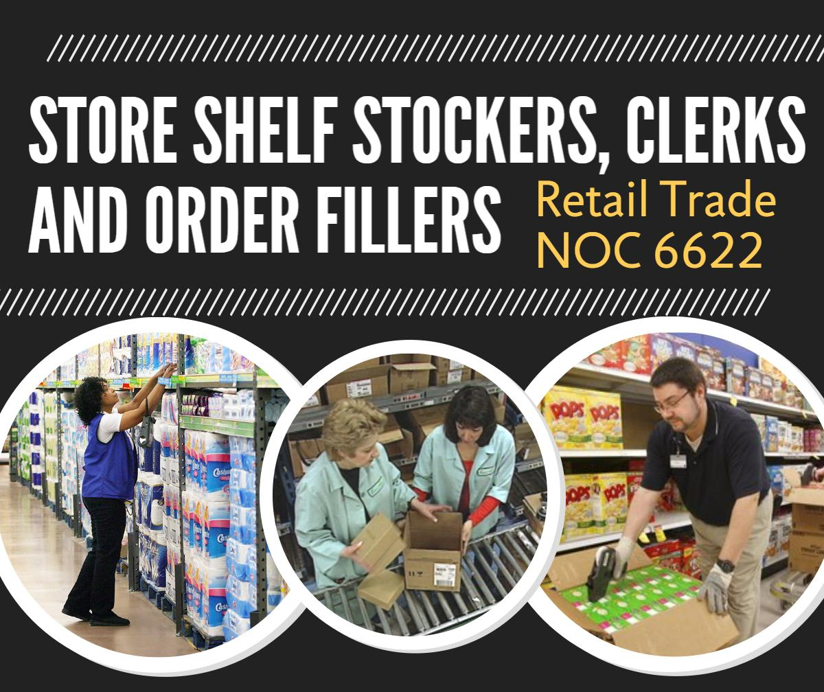 Store Shelf Stockers, Clerks and Order Fillers - Four County Labour Market Planning Board