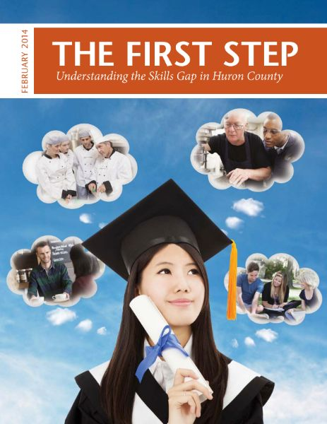 skills gap huron county first step 2014