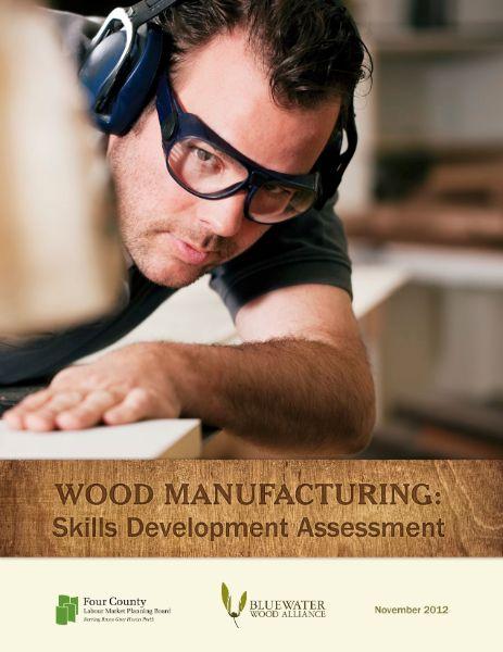 wood manufacturing skills development assessment